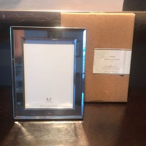 "Pottery Barn Silver Plated Frame ""I Do"""